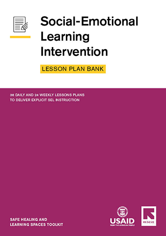SEL Lesson Plan Bank cover
