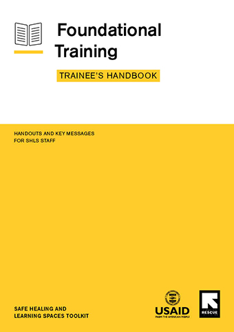 Foundational Training – Trainee's Handbook cover