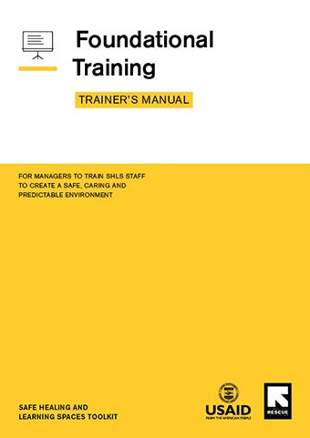 Foundational Training – Trainer's Manual cover