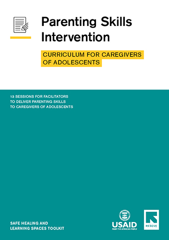 Curriculum for Caregivers of Adolescents cover
