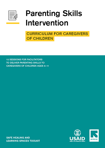Curriculum for Caregivers of Children cover